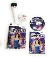 Karaoke Revolution (Nintendo Wii 2009) Complete with Manual and Micropho... - $18.95