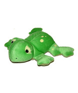 "E&B Giftware Green Frog Plush 2003 Lovey 8"" Beanbag Stuffed Animal Beanie - $19.68"