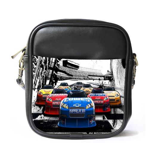 Sb0884 sling bag leather shoulder bag cars start