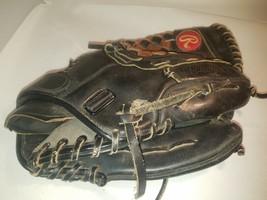Rawlings Fastback Padlock 11.5 Inch Glove Men's BG10 Signature Black Leather - $19.75