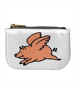 When Pigs Fly Mini Coin Token Change Purse - $16.14