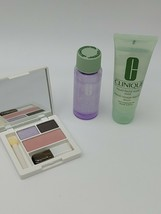 Clinique Take The Day Off Makeup Remover Liquid Facial Soap, Eyeshadow Blush Duo - $16.90