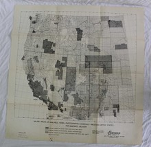FAIRCHILD AERIAL SURVEYS ~ Major Areas of Available Aerial Photographic ... - $39.59