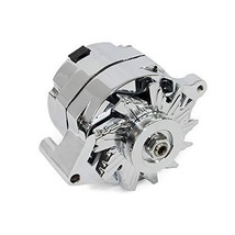 A-Team Performance 1G Style Chrome 1-Wire 110 Amp 10si Conversion Alternator 1 G