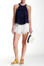 ASTR the Label Lace Pull-On Short  X-Small Ivory - $12.86