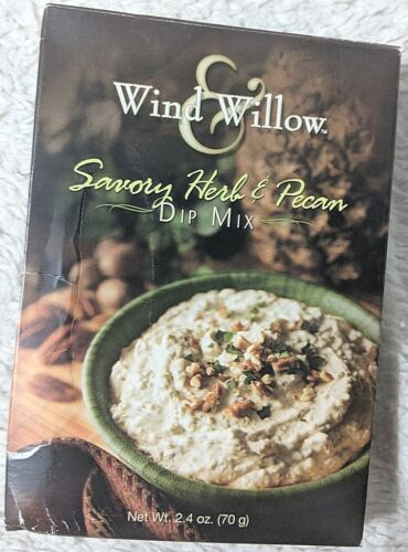 Wind And Willow 4356 3234 Savory Herb And Pecan Dip Mix