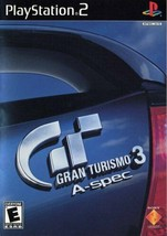 Gran Turismo 3 A-spec Video Game - PlayStation 2, 2006 - $8.90