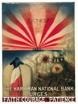 Decor War Poster.Graphic Art Design.National bank urges.Room Wall Art.1763 - $11.30+