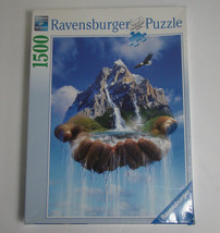 Ravensburger 1500 Piece Puzzle The Earth's in Our Hands New - $49.99