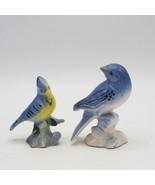 Vintage Lot of 2 Ceramic Bird Figurines made in Japan - $50.36