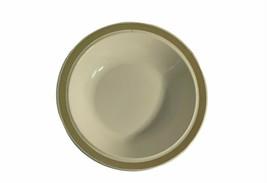 Vintage White With Tan Trim Ceramic Large Serving Bowl By Royal China USA - $24.74