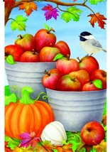 Autumn Orchard Garden Flag - 12 x 18 inches - $11.99