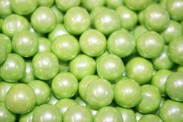 Sixlets Shimmer Lime Green, 1LB - $13.70