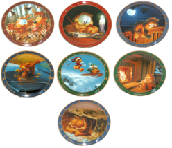 Garfield the Cat Dear Diary Collector Plate The Danbury Mint - $82.03