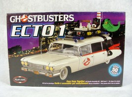Polar Lights Ghostbuster's ECTO-1 Car Model Kit New Scale Sealed - $29.69