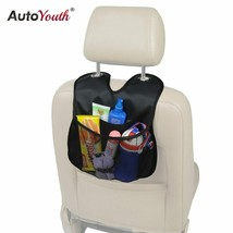 AutoYouth® Car Back Seat Organizer 2017 New Arrival PU Leather Multi-Pocket - £7.55 GBP