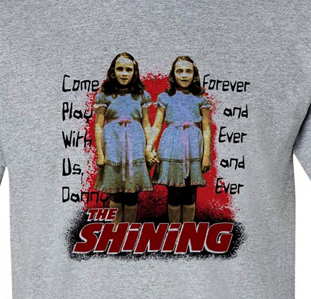 Rady twins t shirt retro horror movie tee stephen king it online graphic tee store for sale  tee