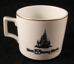 Walt Disney World Mug Cinderella Castle Gold Trim Coffee Tea Cocoa 11 Ounces - $5.93