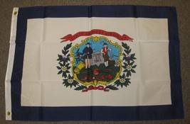 WEST VIRGINIA FLAG 2'X3' STATE 2X3 FEET F745 - $5.89