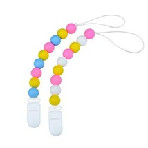 Designer Pacifier Clip,MAM Soothie Holder for Boys and Girls,Silicone Te... - $17.00