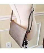 Pewter Gray Wristlet Crossbody Shoulder Purse Handbag NWT - $26.72