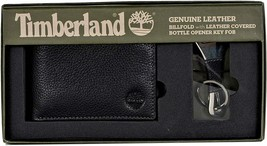 Timberland Men's Leather Billfold Logo Wallet w/Bottle Opener NP0511/01 image 2