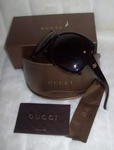 Gucci Sunglasses HAVANA Gradient Brown logo GG3581S WR9LA  - New - £143.74 GBP