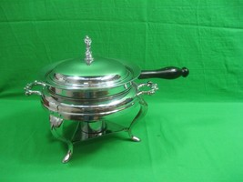 Vintage Stainless Steel Chafing Dish Food Warmer - $18.66