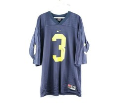 Vintage Nike Mens Medium University of Michigan Wolverines Football Jers... - $39.55
