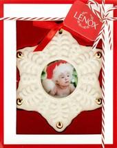 Lenox Snowflake Frame Christmas Ornament BNIB/SDS - $11.17