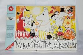 RARE Vintage Japanese Board Game 1989 MUUMIPELI - MUMIMSPELET Moomin Cha... - $365.31