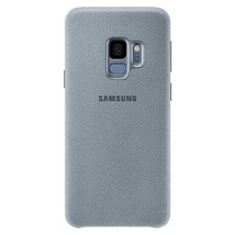 Genuine Samsung Alcantara Cover Case for  Galaxy S9 Mint or Red Free Delivery - $59.68