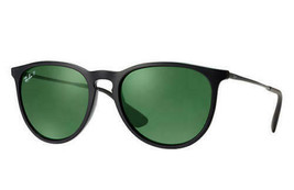 Ray Ban RB4171 601/2P Erika Classic Black Frame/Polarized Green Classic ... - $181.17