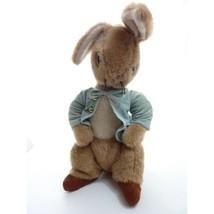 Vintage Eden Toys Peter Rabbit Beatrix Potter Bunny Plush Stuffed Animal  - $14.99