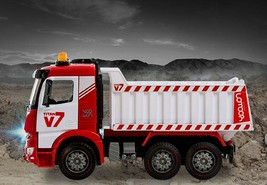 Yoowon Toys Titan Dump Truck Car Vehicle Sound Lights Heavy Equipment Play Toy image 2