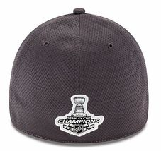 NHL Los Angeles Kings 2014 Stanley Cup Championship Locker Room Cap New Era Hat image 3