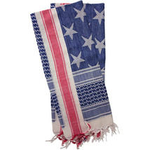 Red Rock Gear Shemagh Head Wrap USA Stars and Stripes - $28.95