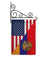 Armenia US Friendship - Impressions Decorative Metal Fansy Wall Bracket ... - $27.97