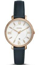 Fossil Women's Jacqueline ES4291 Gold Leather Japanese Quartz Fashion Watch - $75.00