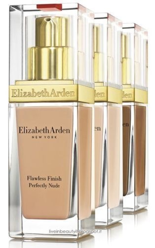 Elizabeth Arden Flawless Finish Perfectly Nude Makeup Sunscreen SPF 15 1oz