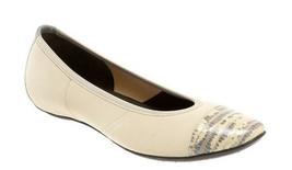DONALD PLINER 'Halo' Ivory Ballet Flats Size 6 Shoes - $53.10