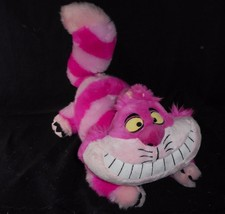 "17"" DISNEY STORE ALICE IN WONDERLAND CHESHIRE CAT STUFFED ANIMAL PLUSH T... - $27.12"