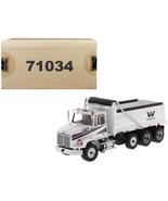 Western Star 4700 SB Dump Truck White 1/50 Diecast Model by Diecast Masters - $92.49