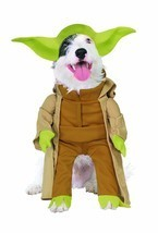 RUBIES STAR WARS YODA DARTH VADER DOG HALLOWEEN PUPPY ANIMAL COSTUME 887893 - $18.75