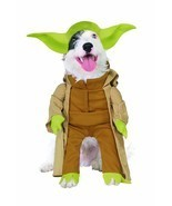 RUBIES STAR WARS YODA DARTH VADER DOG HALLOWEEN PUPPY ANIMAL COSTUME 887893 - £14.24 GBP