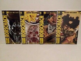WATCHMEN: RORCHACH - BEFORE WATCHMEN SET & COLLECTOR FIGURES - FREE SHIP... - $70.13