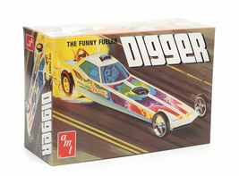 Skill 2 Model Kit Digger Dragster The Funny Fueler 1/25 Scale Model by A... - $49.49