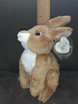 """Ty Beanie babies 7"""" ~ FIELDS ~ Brown Bunny rabbit - MWMT -  DOB:2/10/10 - $9.99"""