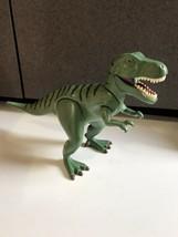 Playmobil 4171 T-Rex Green Tyrannosaurus Rex Dinosaur Action Figure 2007 - $29.65