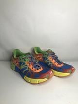 Womans ASICS Gel Noosa Tri 9 sz7 multi color (soles In Great Condition) - $19.35
